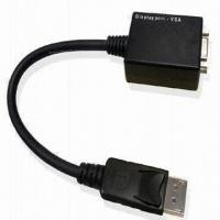 China DP to VGA Converter with IC DP Male to Female and +3.3V Power Supply wholesale
