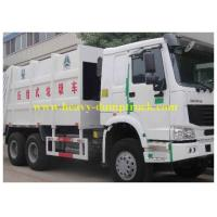 China 16 CBM Waste Collection Trucks 290 HP , Automatic Garbage Truck CCC / BV wholesale