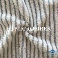 China Microfiber Fabric Twist Pile And Hard Silk Fabric Yard Byed Cloth Floor Cleaning Refill Cloth on sale