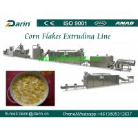 China Breakfast Cereal and Corn Flakes Production line / puff snack Extruder machine on sale