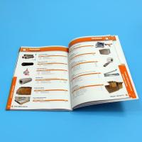 China Paper / Paperboard Perfect Binding Catalogue Printing Service Customized A4 / A3 / A5 wholesale
