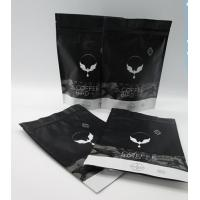 China Matte Finish Plastic Pouches Packaging Customized Coffee Bean Packaging Bag wholesale