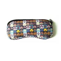 China Sunglasses Soft Case Neoprene Eyeglass Pouch.SBR Material. Size is 19cm*8.7cm. wholesale