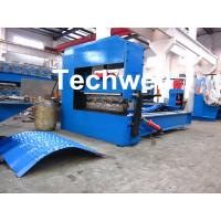 China Auto Crimping Cold Roll Forming Machine , Arch Metal Roofing Forming Machine wholesale