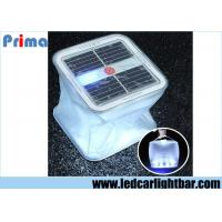 China Inflatable 10 White LED Garden Lawn Solar Light Outdoor Camping Waterproof Emergency Lamp White wholesale