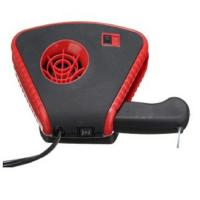 China 2 In 1 Auto Fan Heater With Light , Red Handheld Rechargeable Car Heater wholesale