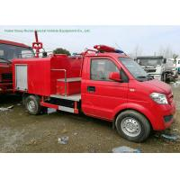 China Left Hand	Drive Fire Fighting Truck With Gasoline Portable Fire Pump 1CBM Water wholesale