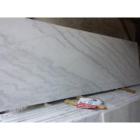 China China Marble Guangxi White Kwong Sal White Cloudy White Rough Polished Slabs 1.8cm thickness Quality A wholesale