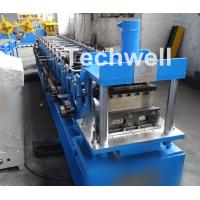 China Light Steel Stud Roll Forming Machine , 5.5 Kw Industrial Metal Roll Forming Machine wholesale