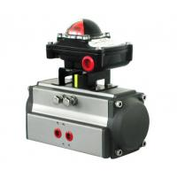 China Double action actuator pneumatic rotary cylinder with honeywell limit switch box wholesale