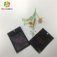 China Heat Sealed Foil Packaging Bags Custom Printing One Side Clear Transparent Resealable wholesale