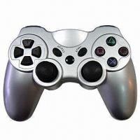 Buy cheap Wireless Gamepad/Controller with Dual Vibration Shock Feedback and 12 Analog from wholesalers