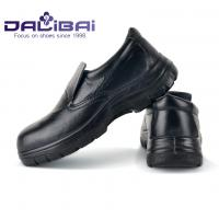 China Male Kitchens Working Slip On Safety Toe Shoes Round Toe Anti-Oil BSCI Certification wholesale