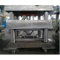 China Precision Highway Guardrail Roll Forming Machine 15 Stands Servo Feeding Device wholesale