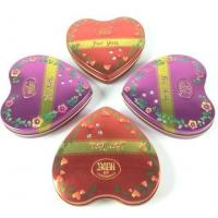 China Metal Heart Tin Boxes wholesale