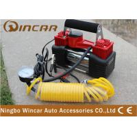 China Tire Inflator Car Tyre 12V Portable Air Compressor 2*30mm DC12V 25A wholesale