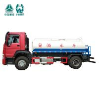 Radial Tyre Commercial Water Bowser Truck / High Power Water Transport Tank