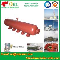 China Oil-fired ISO9001 SA516GR70 Boiler mud drum with Natural Circulation wholesale