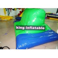 China Green And Blue Inflatable Water Toys PVC Inflatable Side Horse For Water Parks wholesale
