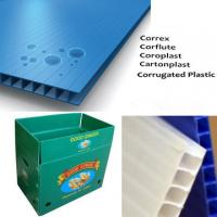 China Impact Resistant corrugated plastic packaging sheets For Indoor / Outdoor on sale