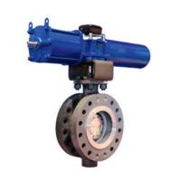 China SS ANSI PN16 DN300 Cryogenic Electric Control Valve wholesale