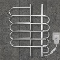 China CUSTOMIZED   80w Stainless Steel Wall Mounted Electric Heated  Towel rail For washroom wholesale