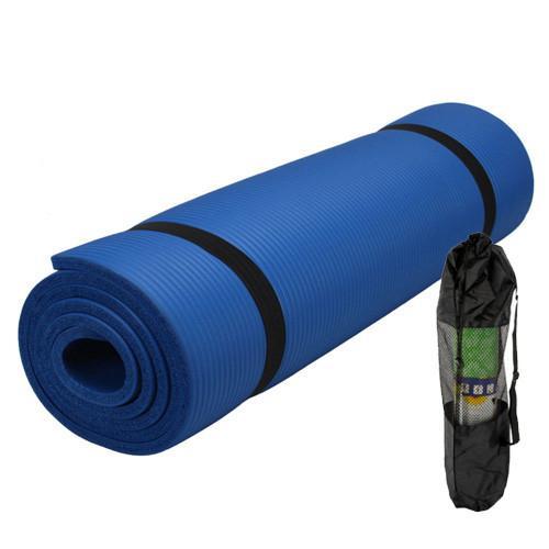 NBR Pilates Mat/fitness Exercise Mat With Mesh Bag