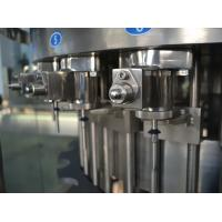 China Three in One Liquid Filling Machine , Carbonated Drink Filling Plant for Gas beverage 110V wholesale