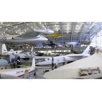 Quality Custom Dip Galvanized, Wide Span Steel Aircraft Shed And Airport Terminals for sale