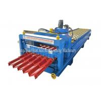 China Customized GI / PPGI / AL Steel Roof Step Tile Making Machine 8.5 * 1.5 * 1.2m wholesale