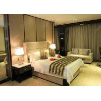 China Antique Business Type Hotel Bedroom Furniture Covered With Glossy Lacquer Finish wholesale