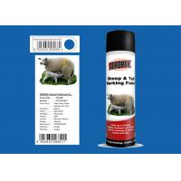 China Great Adhesiveness Animal Marking Paint 0.5L With Blue Color APK-6821-9 wholesale