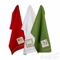 Buy cheap Christmas Holiday Dish Towels Kitchen Towels Hand Towels For Home Gift from wholesalers