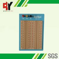 China Brown Solderless Circuit Board , Circuit Bread Board With Blue Plate wholesale