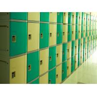 China Ventilation Plastic Gym Lockers Four Tier Anti UV Aging Waterproof Storage Locker wholesale