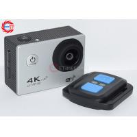 China WIFI 4k Silver Remote Control Action Camera Underwater with 2.0 Inch Screen wholesale