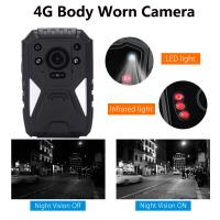 China Full HD 1440P 3G 4G Security Guard Wireless WIFI Police Video Body Worn Camera wholesale