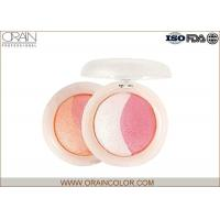 China Multi - Colored natural shimmery pink blush Powder Healthy Mineral Ingredient wholesale