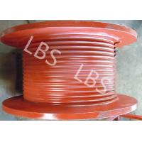 China Rig Drawworks Carbon Steel Lebus Grooved Drum Steel Wire Rope wholesale