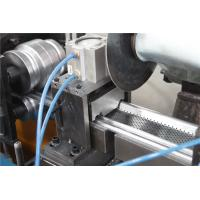 China 0.5-1.2MM Shutter Roll Forming Machine with Continuity punch Punching 56mm Shaft wholesale