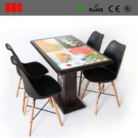 China The interactive dining table for malls, and airports - offers customers a state-of-the-art ordering system, entertainmen wholesale