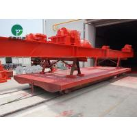 China China supplier cable reel motorized material electric handling carts on rail on sale