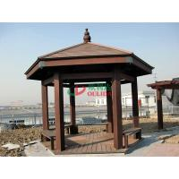 China Weather Resistant Composite Gazebo Kits No Contraction / Expansion 6.35m X 5.5m wholesale
