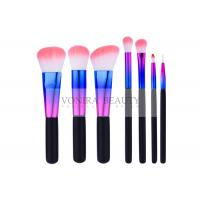 China Distinctive Color Ferrule Eyeshadow Brush Kit Exclusive Utensil For Starters wholesale