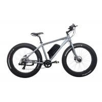 China Fat Tire MTB Electric Bicycle with 350W Motor , Suitable for Snowy Road / Sandy Beach wholesale
