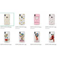China Lady Bling Phone Cover Case Silicone Clear Soft Material Easy To Install / Tear Down wholesale
