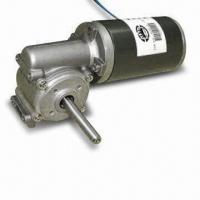 China Small DC Geared Motor with 64.5mm Diameter and 36 to 450rpm No-load Speed wholesale