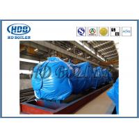 China Subcritical Recirculation Boiler Steam Drum Carbon Steel 96mm Thickness wholesale