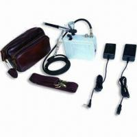 China Mini Battery Airbrush Compressor with Adjustable Working Pressure, Measures 11 x 5.5 x 12cm wholesale