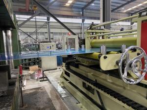 China Automatic Heavy Duty PPGI Sheet Leveling Machine 5.5kw Sheet Metal Leveler on sale